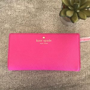 [Kate Spade] Stacy Mikas Pond snapdragon wallet